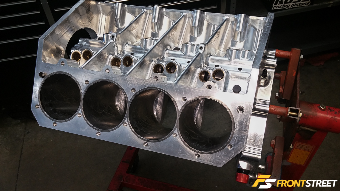 One Of A Kind Big-Block Engine Designed For Outlaw All Motor Racing