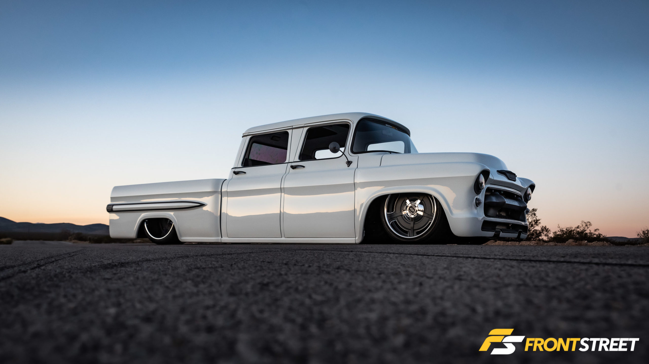 California Dreamin': Pure Metal Works' Twin-Turbo Diesel '55 Crew Cab
